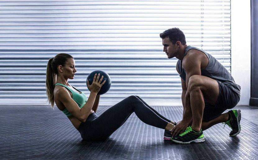 Personal training at Ozfitness Coolum